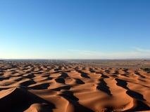 View over Sahara Sand Dunes Stock Photography