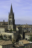 View over Saint-Emilion, France Royalty Free Stock Image