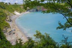 View over Saint Marys Bay Torbay Devon Stock Photos