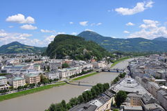 View over Salzburg, austria Stock Photography