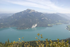 View over salzkammergut Royalty Free Stock Photography