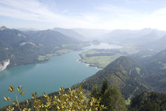 View over salzkammergut Stock Photography