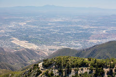 View over San Bernardino Royalty Free Stock Images