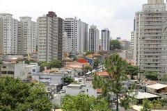 View over Sao Paulo Stock Photos