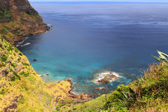 View over the sea in Azores Portugal Royalty Free Stock Images