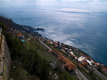 View over the sea Campania Italy Stock Photos