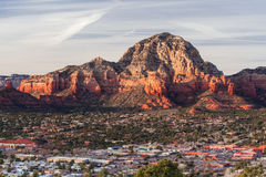 View over Sedona Stock Photography