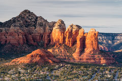 View over Sedona Royalty Free Stock Photography