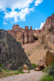 View over Sharyn or Charyn Canyon, Kazakhstan Royalty Free Stock Image