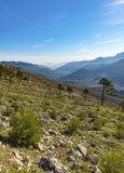 View over the Sierra Cazorla Mountain Range Stock Image