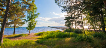 View over Siljan Royalty Free Stock Photography
