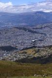 View Over Southern Quito, Ecuador Royalty Free Stock Photo