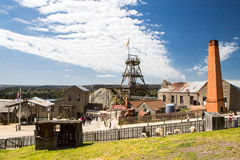 View over Sovereign Hill Stock Image