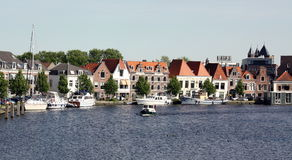 View over the Spaarne Royalty Free Stock Image