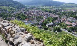 View over Staufen Stock Images