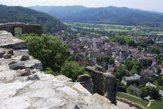 View over Staufen Royalty Free Stock Photo