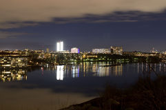 View over Stockholm with the island Kungsholmen in the forground Royalty Free Stock Image