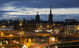 View over Stockholm, Sweden Royalty Free Stock Photo