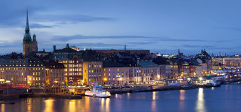 View over Stockholm, Sweden Royalty Free Stock Images