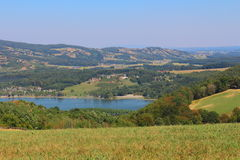 View over Stubenberg Lake. In the Austrian Alps Stock Photography