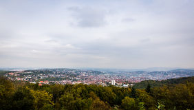 View over Stuttgart Germany Stock Image