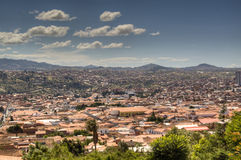 View over Sucre. View over the city of Sucre, Bolivia Stock Images