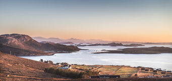Free View Over Summer Isles At Althandhu In Scotland. Stock Image - 88133301