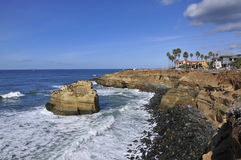 View over Sunset Cliffs in San Diego Royalty Free Stock Image