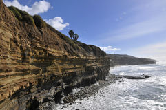 View over Sunset Cliffs in San Diego Stock Images