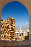 A view over Taiz city. In Yemen Stock Photos