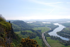 View Over Tay Stock Image