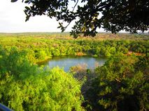 The View Over Texas Hill Country royalty free stock photos