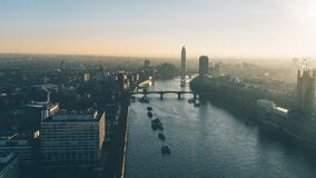 View over Thames