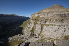 Free View Over The Ordesa Valley From Clavijas De Soaso Royalty Free Stock Photo - 129088055