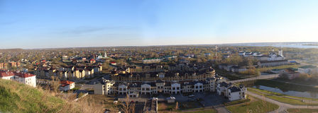 View over Tobolsk Royalty Free Stock Images