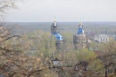 View over Tobolsk Royalty Free Stock Image