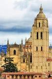 Cathedral of Segovia royalty free stock photos