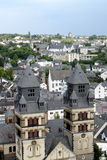 View over the town of Mayen Royalty Free Stock Photo