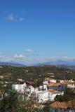 White village, Guaro, Andalusia. Royalty Free Stock Photo