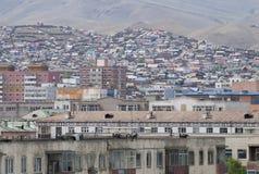View over Ulaanbaatar, Mongolia Stock Image