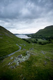 View over ullswater Stock Photos
