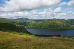 View over Ullswater in The Lake District Stock Photography