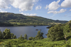 View over Ullswater Royalty Free Stock Image