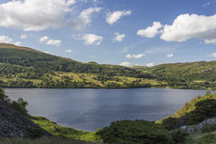 View over Ullswater Royalty Free Stock Photo