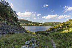 View over Ullswater Stock Image