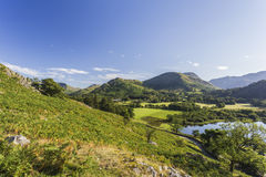 View over Ullswater Royalty Free Stock Photography