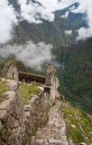 View over Urubamba Valley Stock Photos