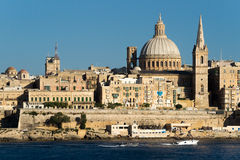 View over Valletta Stock Photography