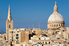 View over Valletta Stock Image