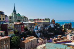 View over Valparaiso, in Chile Stock Photos